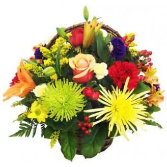 Happy Wishes Basket