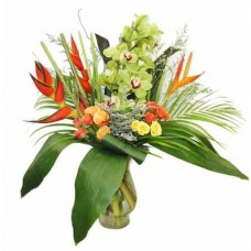 Bright Tropical Bouquet