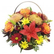 Autumn Inspired Basket