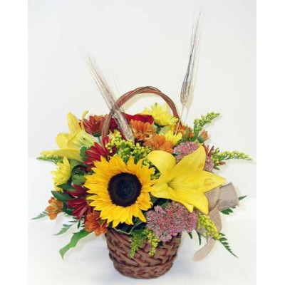 Sunny Daydream Basket