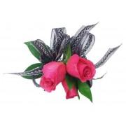 Elegant Hot Pink Corsage