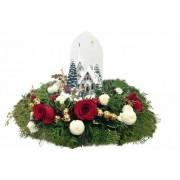 Santa Claus coming bouquet
