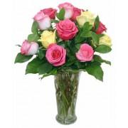 Joy Friendship Rose Bouquet